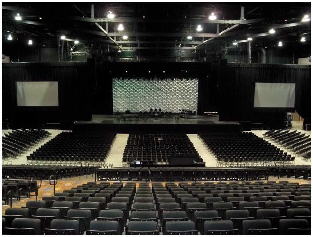 casino rama entertainment centre capacity