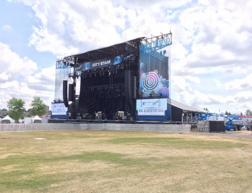 Monitoring The Ottawa Bluesfest: Multi-Stage Outdoor Festival