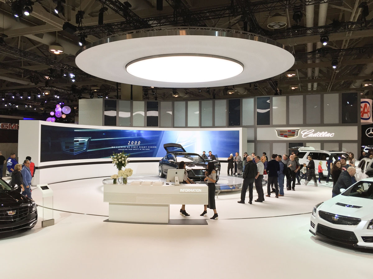 The Canadian International Autoshow in Toronto