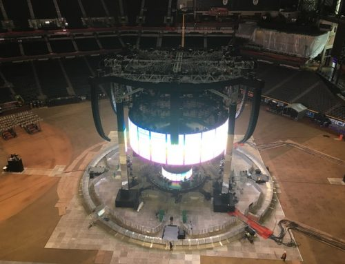 Peace of mind at Adele's in-the-round stadium tour