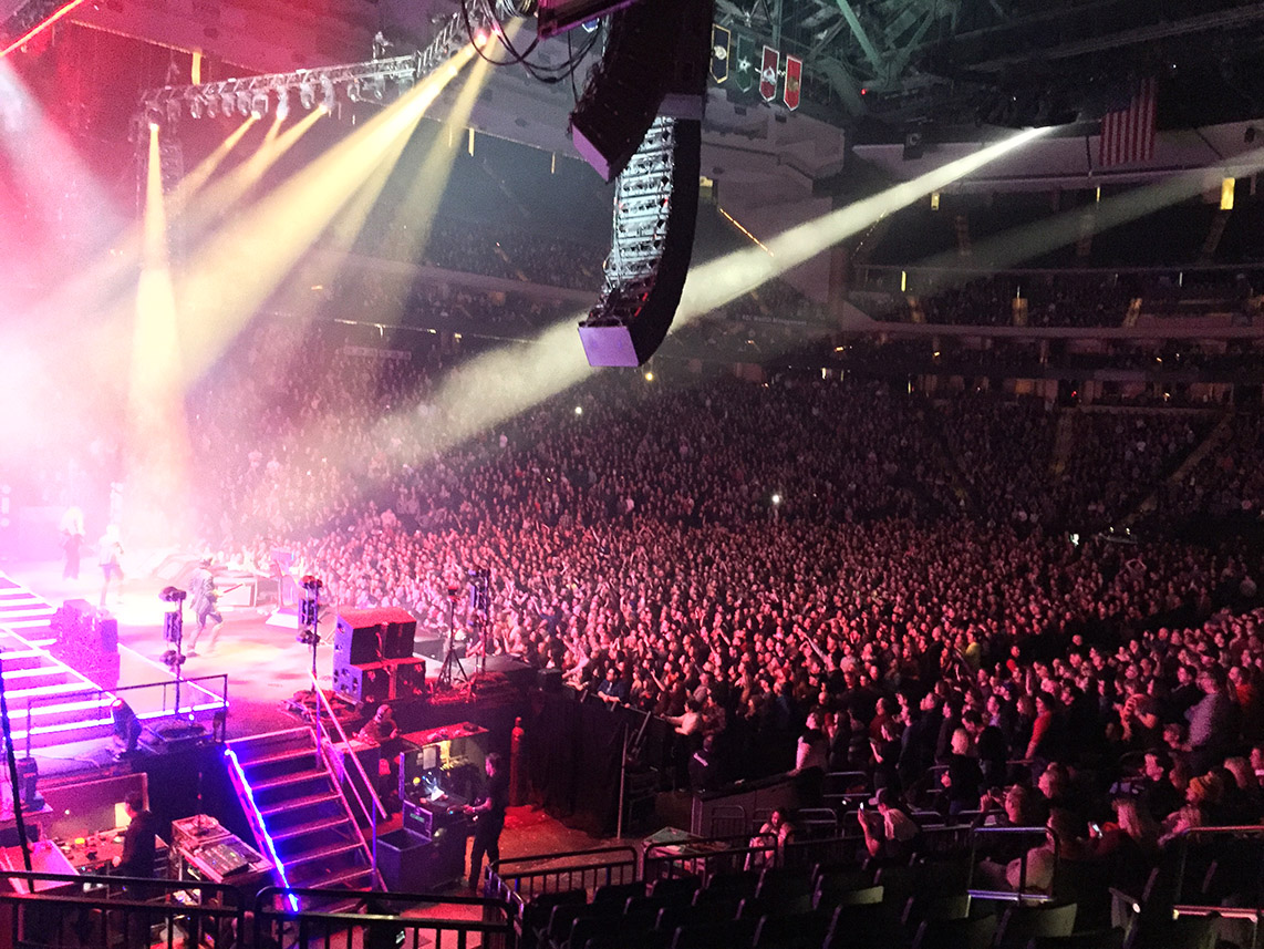 BroadWeigh gets 'Wonderful Wonderful' results on The Killers World Tour