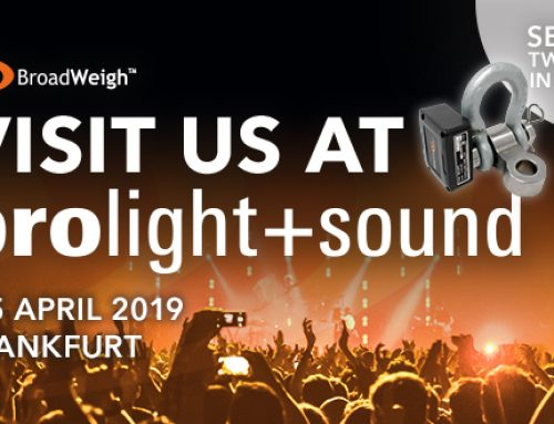 BroadWeigh has Huge Presence at Prolight + Sound