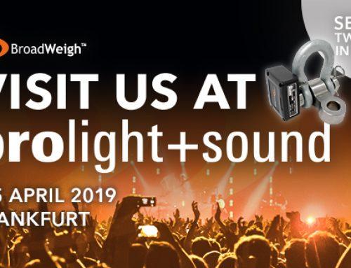 BroadWeigh has Huge Presence at Prolight + Sound