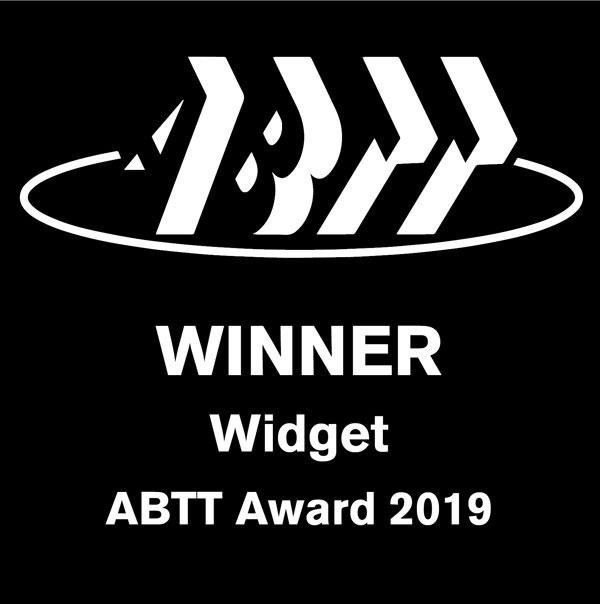 ABTT Widget Winner Award 2019