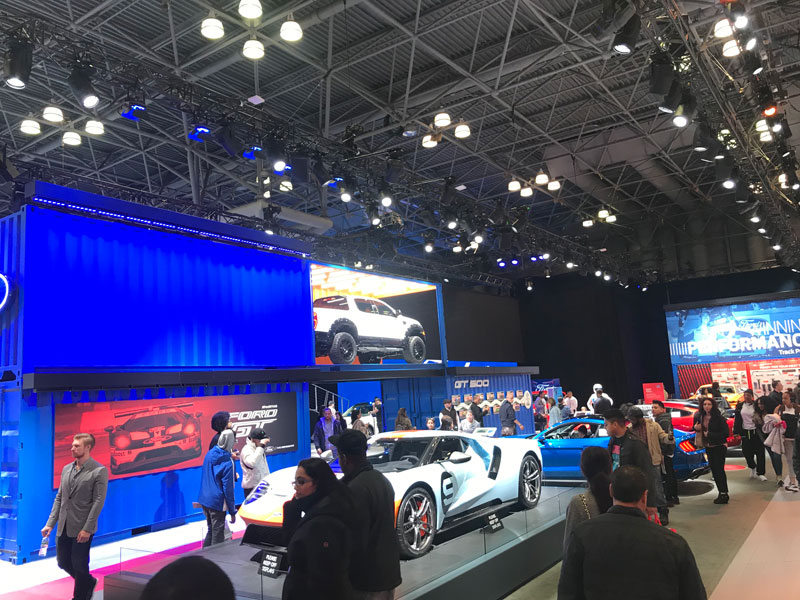 Broadweigh Bluetooth makes its debut at the New York International Auto show
