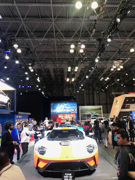 New York Auto Show 2019.