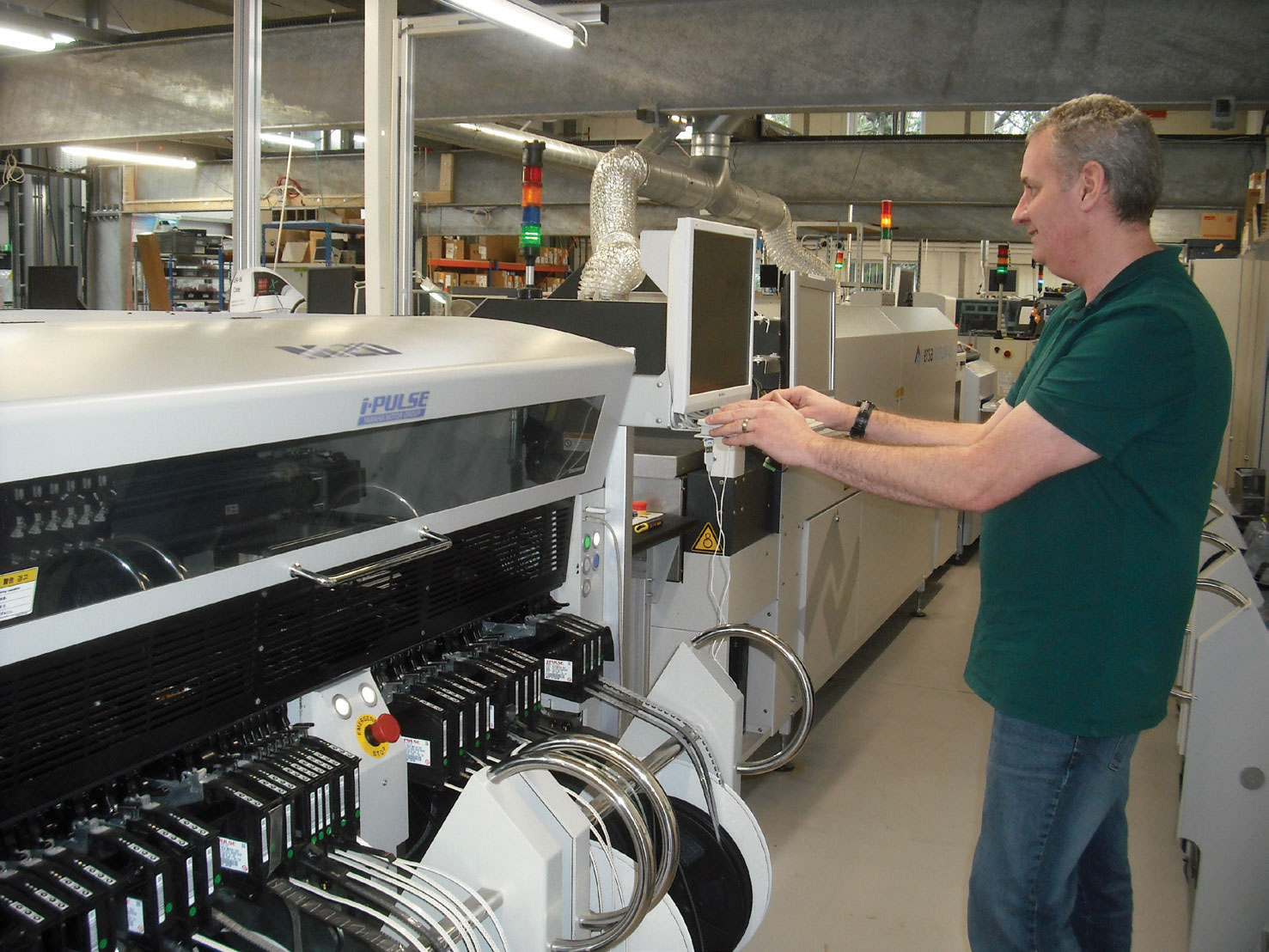 Technician at Mantracourt and Broadweigh