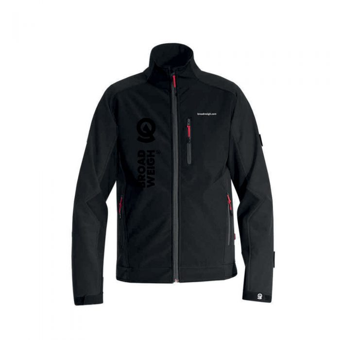 Broadweigh Jacket Black - Front