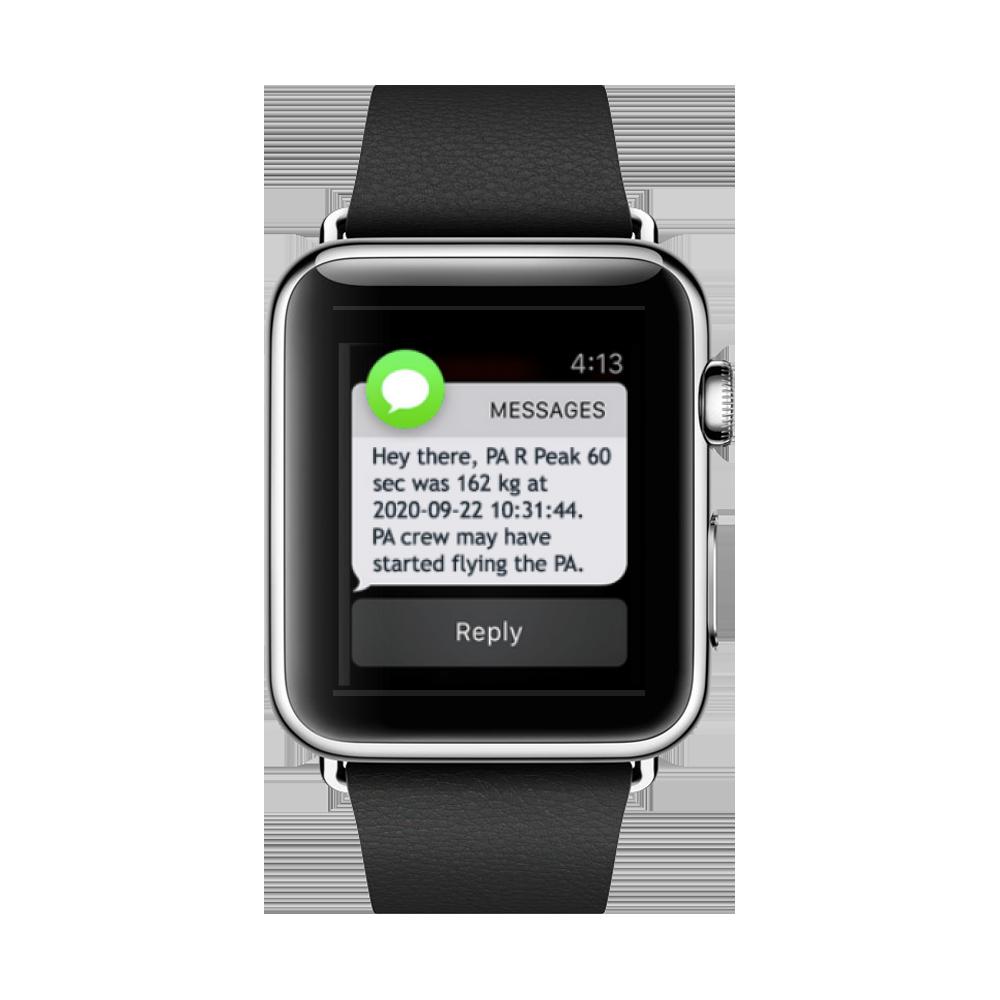 SENSORSPACE® Apple Watch Display